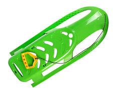 Ondis24 Kinderschlitten Rennrodel Bob Bullet mit Metallkufen Zugseil grün 102 cm