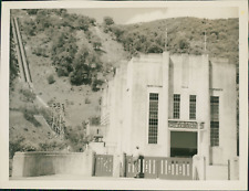 New Zealand, Piripaua Power Station  Vintage silver print.  Tirage argentique