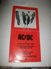AC/DC - EP - GIRLS GOT RHYTHM - HEAVY METAL - HARD ROCK