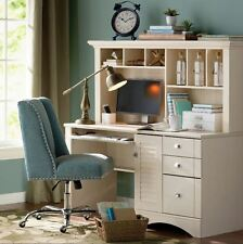 Beau Office Desk With Hutch Sauder Home Computer CPU Storage Shabby Chic  Furniture
