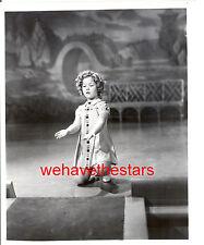 Vintage Shirley Temple LITTLE MISS BROADWAY '30s CANDID Publicity Portrait