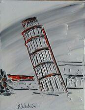 tableau original contemporain peinture Pise white Italie