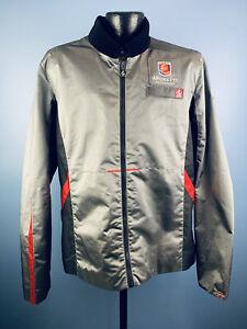 Men's Luna C Andretti Motorsports Silver Polyester Full Zip LS Racing Jacket XL