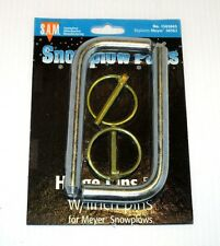 """Hinge pins, 5/8"""" with linch pin, set of 2, Snow Plow, Meyer 08562, part #1302045"""