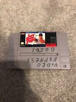 Super Bases Loaded (Super Nintendo Entertainment System, 1991) Working Game Only