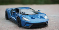WELLY 1:24 Ford 2017 GT Alloy Sports Car Model Boys Toys Static Display
