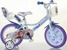 """Dino Bikes Frozen 14"""" Bicicletta da Bambini - Viola (146R-FZ2)"""