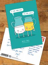 Funny Postcards Brainbox Candy 'Nice Jugs' Comedy Humour Novelty Joke Message