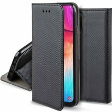 XIAOMI REDMI 9C - Handy Tasche Schutz Hülle SMART MAGNET Book Case SCHWARZ