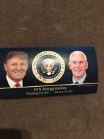 TRUMP PENCE 45TH 45 INAUGURATION PRESIDENT SEAL STICKERS USA