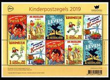 Nederland NVPH 3785 Vel Kinderzegels 2019 Postfris