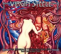VIRGIN STEELE - THE MARRIAGE OF HEAVEN AND HELL/RE-RELEASE  CD + BONUS CD NEU