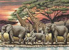 African Sunset - Maia Collection - Anchor Cross Stitch Kit - 56780001026