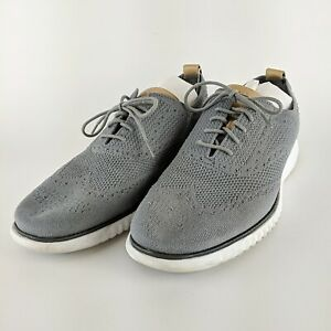 COLE HAAN 2.0 Grand Grey Casual Sneakers Size 12 M