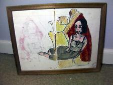 Framed Outsider art Lot 010