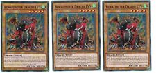 3 x armé Drache LV5 led2-de026, 1st, Common, Allemand, PLAYSET