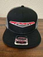 VINTAGE PONTIAC GTO 1969 6.5 GOAT MUSCLE CAR PATCH TRUCKER HAT BLACK GRAY MESH