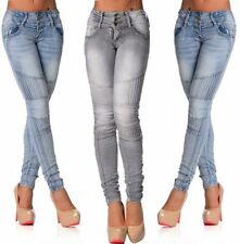 Jeans da donna slim, skinny Blu Taglia 42