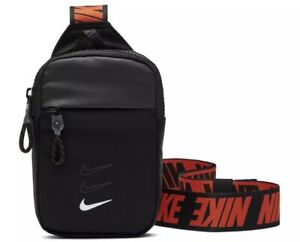 NIKE Sportwear Essentials Hip Pack Bag Black BA5904-010 M Rare Iphone Smartphone