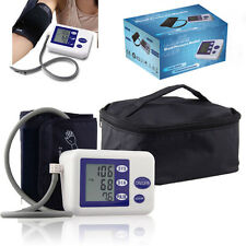 Digital Arm Blood Pressure Upper Automatic Monitor Heart Beat Meter Gauge LCD