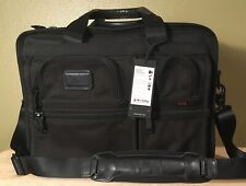 Tumi Expandable Laptop Bag Carry on Black Nylon NEW WITH TAG