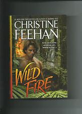 Wild Fire By Christine Feehan HC/DJ VGC A Leopard's Novel