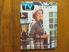 Nov-1980 Santa  Ana,Ca Register TV Mag(LINDA HAMILTON/SECRETS OF MIDLAND HEIGHTS