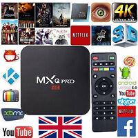 2017 MXQ PRO Quad Core 4K Smart TV Box Android 6.0 NEW 16.1 Movies Media Player