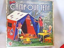 Vintage 1972 Mattel Barbie doll Camp Out Tent