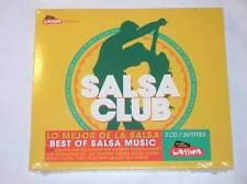 BOITIER 2 CD / SALSA CLUB / LATINA / LE MEILLEUR DE LA SALSA / NEUF SOUS CELLO