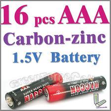16 x AAA zinc-carbono Baterías uso individual R03P 1212 UM4