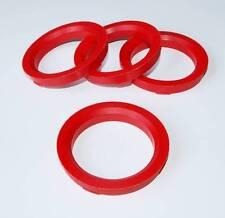 X4 Bicchiere anelli per Team Dynamics 73,1 punti mm per adattarsi a 57.1 mm Audi A4 A6 A8