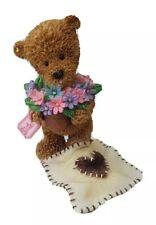 'For my sister' teddy bear. Figurine / ornament ~ Popcorn.