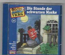 TKKG CD FOLGE 25 Die Stunde der schwarzen Maske  - Hörspiel CD 2004 -