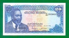 Kenya 20 Shillings 1978  P17 UNC