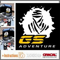 2x DAKAR GS ADVENTURE White Yell ADESIVI STICKERS BMW R 1200 1150 F800 F650 F700