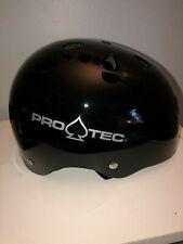 Pro-Tec Classic Skate (Gloss Black) Roller Derby Skateboard Helmet Xl