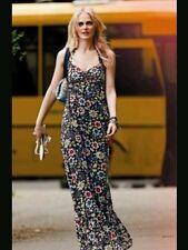 DENNY ROSE ABITO vestito lungo fiori art. 3445 tg. XS e M raro introvabile