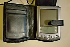 Palm M505 PDA with Charger, stylus and case