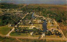 East Lake Harris Estates Mobile Home Trailer Park Astatula Florida FL Postcard