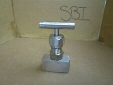 No Name Stainless S/S Steel Needle Valve 316 3/8