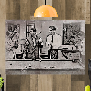 The Rat Pack Sinatra Framed Canvas Art Picture Print Ready To Hang