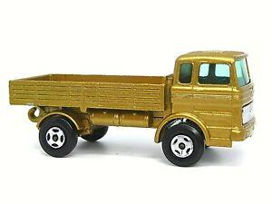 Matchbox Lesney Superfast No.1e Mercedes Truck (METALLIC GOLD)