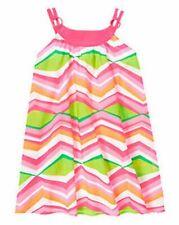 NWT Gymboree Girls Tropi Cutie Chevron Dress Size 8