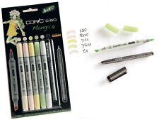 COPIC CIAO Marker 5+1 Set 22075563 MANGA 6 Multiliner Markerset für Einsteiger