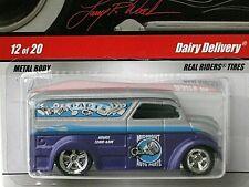 HOT WHEELS - LARRY'S GARAGE - MIDNIGHT AUTO PARTS - DAIRY DELIVERY -  DIECAST