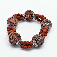 Rudraksha Bracelet Rudraksh 5 Mukhi Rudraksha Beads Kada WristBand