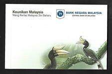 2012 MALAYSIA BANKNOTE - NEW SERIES RM1 & RM5 FOLDER