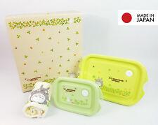 Totoro Bento Lunch Food Container Snack Box Towel Set Gift Studio Ghibli Japan
