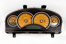 04-06 Pontiac GTO Holden Commodore 200mph Instrument Gauge Cluster Fusion Orange